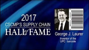 George Laurer Interview – CSCMP 2017 Supply Chain Hall of Fame Inductee