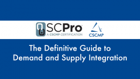The Definitive Guide to Demand and Supply Integration