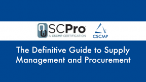 The Definitive Guide to Supply Management and Procurement