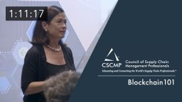 Blockchain 101: Next-Generation Transformation of Supply Chains, an EDGE 2017 Session