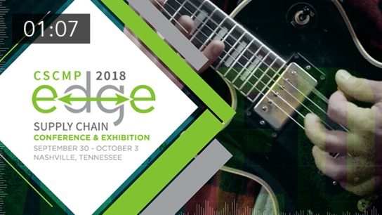 Transform ideas into actions at CSCMP Edge 2018...
