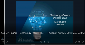 Protected: CSCMP Roundtable – Finance & Technology Process Team Webinar – April 26