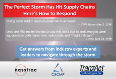 The Perfect Storm Has Hit Supply Chains: Here's How to Respond - Presented by NASSTRAC, TranzAct, and CSCMP